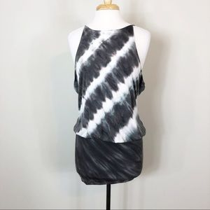 Young Fabulous & Broke Drape Low Back Mini Dress